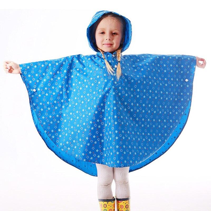 Yuding niño Poncho de lluvia niños niñas impermeable capa de lluvia ...