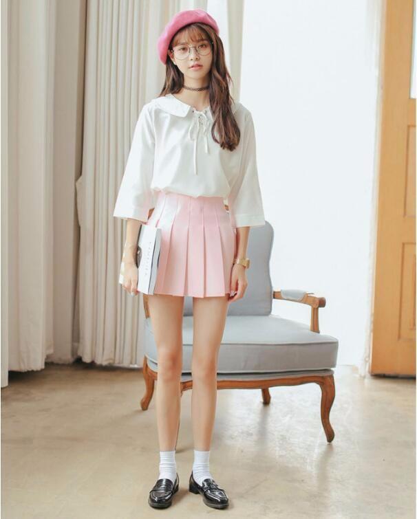 HTB1Lx49NVXXXXaiaXXXq6xXFXXXT - Summer American School Style Fashion Skirts