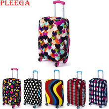 PLEEGA Travel Luggage Suitcase Protective Cover Suitcase Dust Covers Box Sets Travel Accessories Apply To 18 To 30 Inch Cases