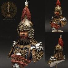 1/10 harz Kits Südlichen Song dynastie hübsche büste Resin soldat Cololess Und Selbst montiert A 052