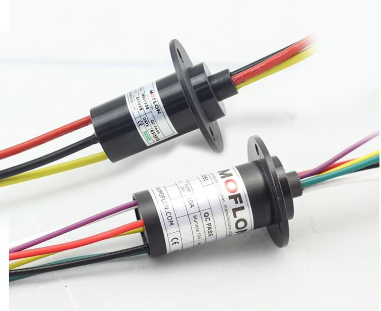 MOFLON slipring electric slip ring 4 wires 15A capsule slip ring dali 14 1 11а
