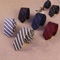 Mantieqingway Brand Men's Business Suit Tie Slim 5cm Neck Tie Polyester Silk Ties for Men Striped & Plaid Printed Floral Necktie