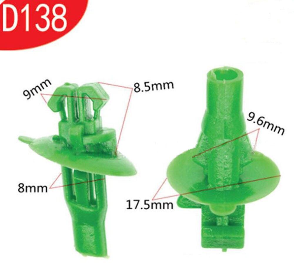1000 Stück Auto Schnalle Universal Clip Heckklappe Kühlkörper Motor Kotflügel Schnalle Für Toyota