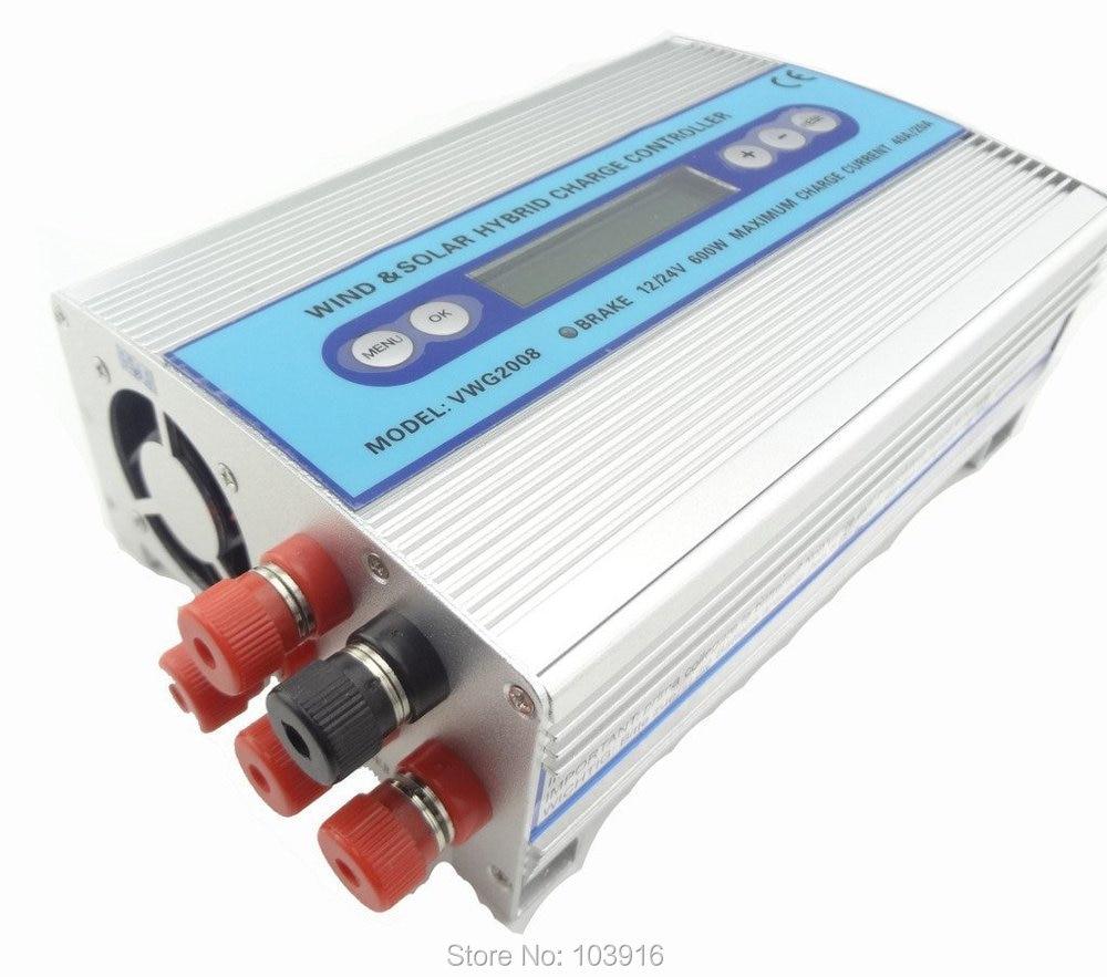 500W + 100W Hybrid Wind Regulator,  Solar Charge Controller, wind regulator, 12V 24V autowork regulator argon regulator yar731l1 plant