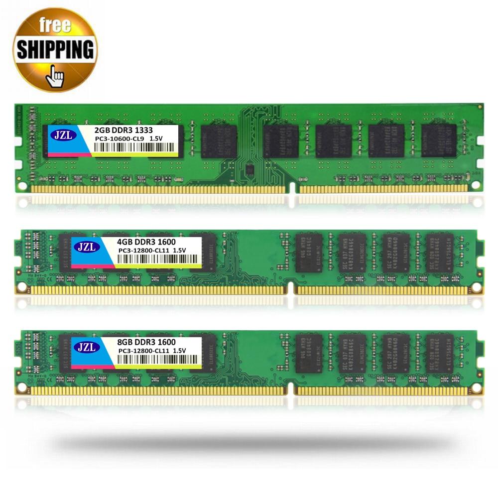 8GB Desktop DDR3 Memory Samsung PC3-12800U 1600MHz DIMM RAM 240Pin NON-ECC CL11