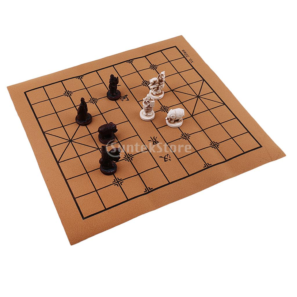 Indah Vintage Cina Catur Tradisional Resin Terracotta Army Potongan Xiangqi Permainan Kerajinan Koleksi Hadiah Resin Chess Chinese Chesschess Army Aliexpress