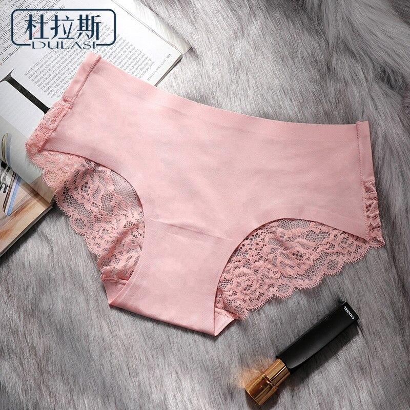 Aliexpresscom  Buy Sexy Seamless Panties Ice Silk Women Underwear Cotton Crotch Mid -8544