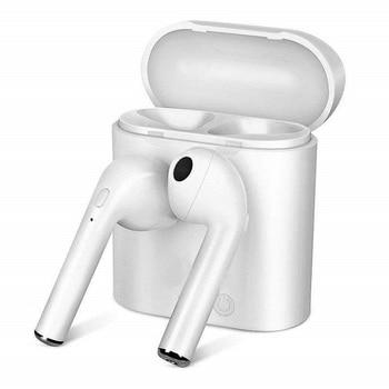 i7s TWS 5.0 Wireless Bluetooth Headphone for Alldocube MIX Plus Tablet Earphone Music Earbud Charging Box