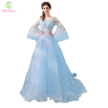 Buy light blue evening gowns and get free shipping on AliExpress.com d5168b36fae5