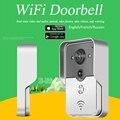 Wi-fi Sem Fio Vídeo Porteiro intercom Doorbell Peehole Câmera Desbloquear Remoto IR Night Vision Alarm IOS Android smart home russi