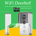 WiFi Wireless Video Door Phone intercom Doorbell Peehole Camera Remote Unlock IR Night Vision Alarm Android IOS smart home russi