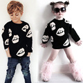 BBK winter private baby lips turtleneck cotton sweater parent-child outfit sweater Big mouth sweater Children's Clothing kids