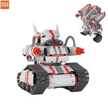Xiaomi  toys Mitu building blocks robot Crawler chariot Children block car and Block vehicles model assembly