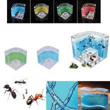 Ant Castle HouseAnts Farm  Colorful Insects Terrarium Ants Cage Insects Box Nursery Ecological Educational Model Toy