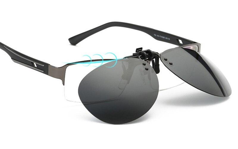 45cbeb1570 ⓪Hdcrafter polarizó el clip en Gafas de sol conducir visión ...