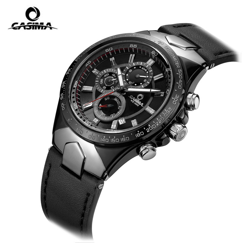 Fashion Luxury brand watches men sports table luminous multifunction racing mens quartz wrist watch waterproof 100m CASIMA#8880 wireless restaurant calling system 5pcs of waiter wrist watch pager w 20pcs of table buzzer for service