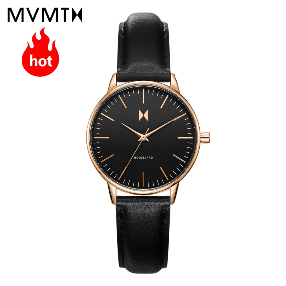 MVMT watch | Official flagship store fashion women's female watch trend studentssimple genuine leather quartz watch 38mmdw недорго, оригинальная цена