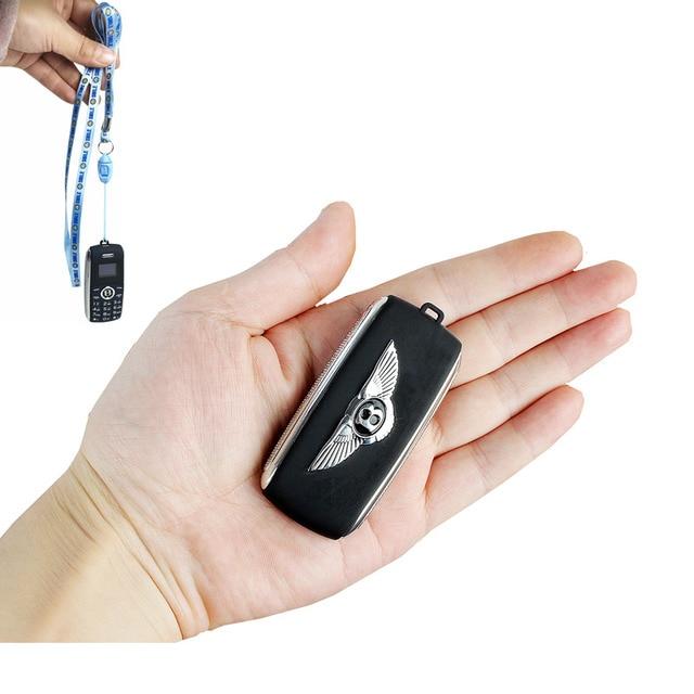 מיני טלפון bluetooth חייגן קסם קול מהירות חיוג מקליט נייד celular טלפון Dual Sim קטן נייד טלפון רוסית שפה