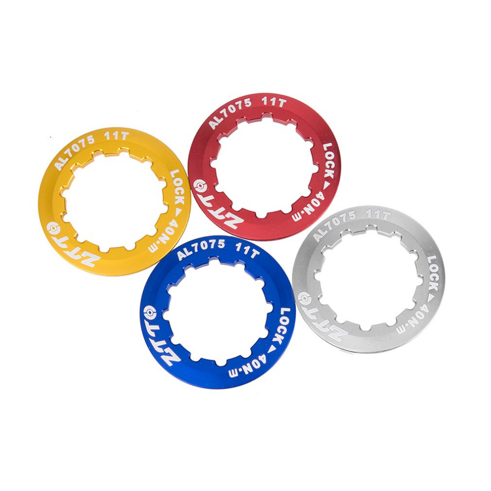 Amiable Universal Ultra Lightweight Aluminum Alloy Mtb Mountain Road Bike Cassette Cover Lock Ring Speed Freewheel Cap 11t 5 Colors