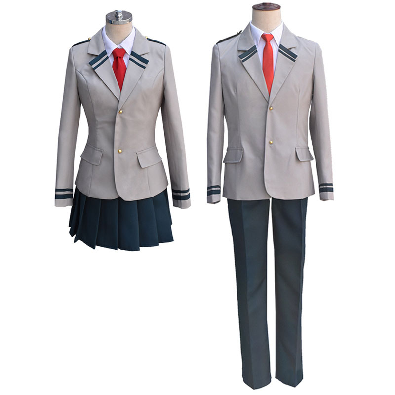 My Hero Academia Cosplay Costume for Men Women Carnival Boku no Hero Academia Uniforms Carnival Halloween Dress for Women