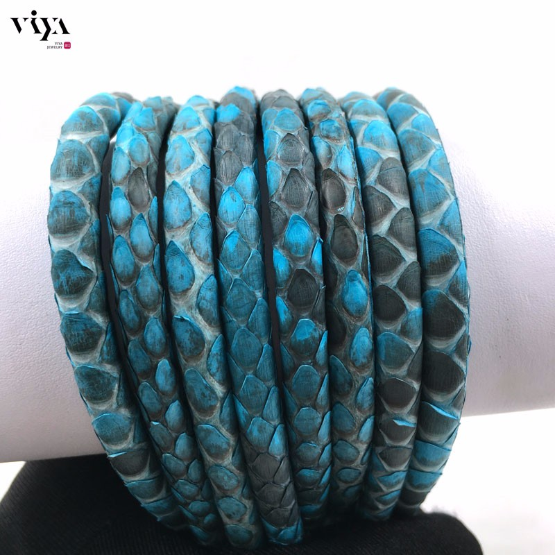 turquoise-Python-Skin-Leather-Cord-Available-Diameter-4-mm-5-mm-6-mm-(8)