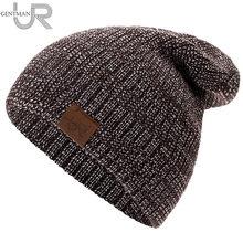 3f5641331650a Nuevo sombrero Unisex urgente Casual sombrero para hombres y mujeres de  hip-hop de punto de invierno sombrero hombre acrílico Cr..