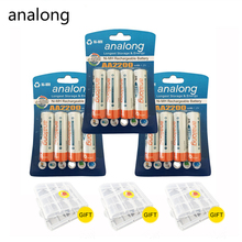 High Capacity 12Pcs AA Rechargeable Batteries 1 2V aa 2200mAh Ni MH Pre charged 2A Battery