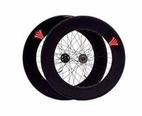 Fixed Gear wheel 90mm rim 70mm aluminum alloy flip flop wheelset road bike wheelset fixie bike wheelset with tires