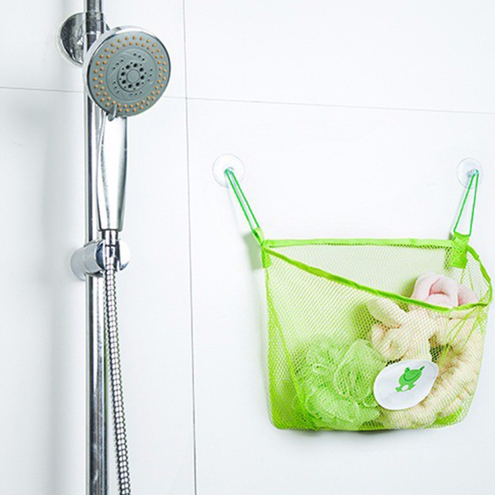 2017-Child-Bath-Toy-Storage-Bag-Organiser-Net-Suction-Baskets-Kids-Bathroom-Mesh-Bag-MAR630-4