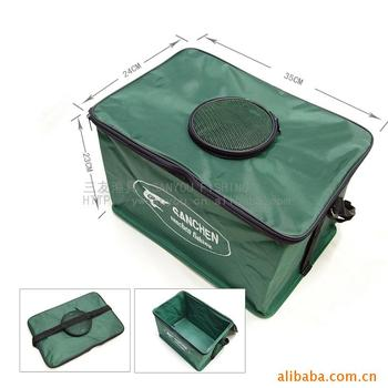 Canvas Folding Water Tank Portable Shrinking Fishing Bucket Fishing Tackle