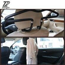 ZD автомобиля вешалка для одежды стеллаж подголовник из нержавеющей стали для Nissan Qashqai Защитные чехлы для сидений, сшитые специально для Opel Astra J H Kia Ceed Sorento Skoda Octavia A5 A7 2 экспресс