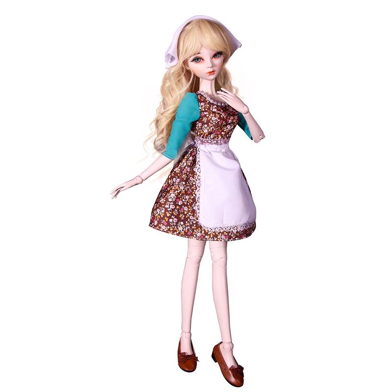 60cm original artesanal princesa cinderela bonecas conjunto 05