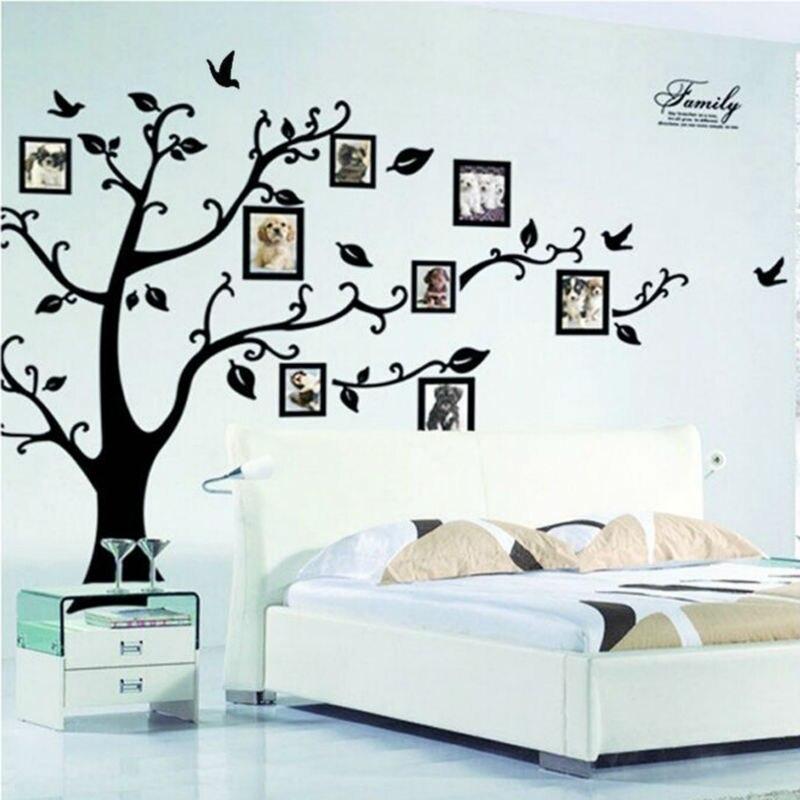 Foto árbol marco familia para siempre memoria árbol pared decorativo ...