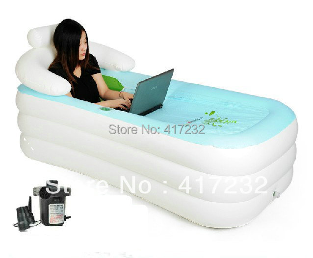Nice Cheap Inflatable bathtub For Sale (Electric Pump Included)-in ...