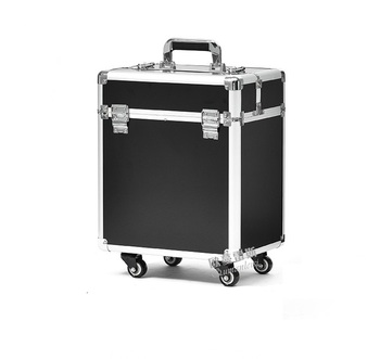 Tanie toczenia bagażu makijaż etui na do przechowywania podróży pojemnik na bagaże wózek kosmetyczne pudełko tanie i dobre opinie Spinner 20cm Unisex Y-ROAD TRAVEL Rolling przechowalnia 34cm 40cm cosmetic luggage 40x34x20cm