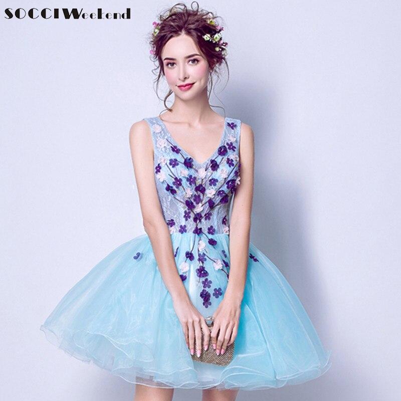 платье на выпускной цветы