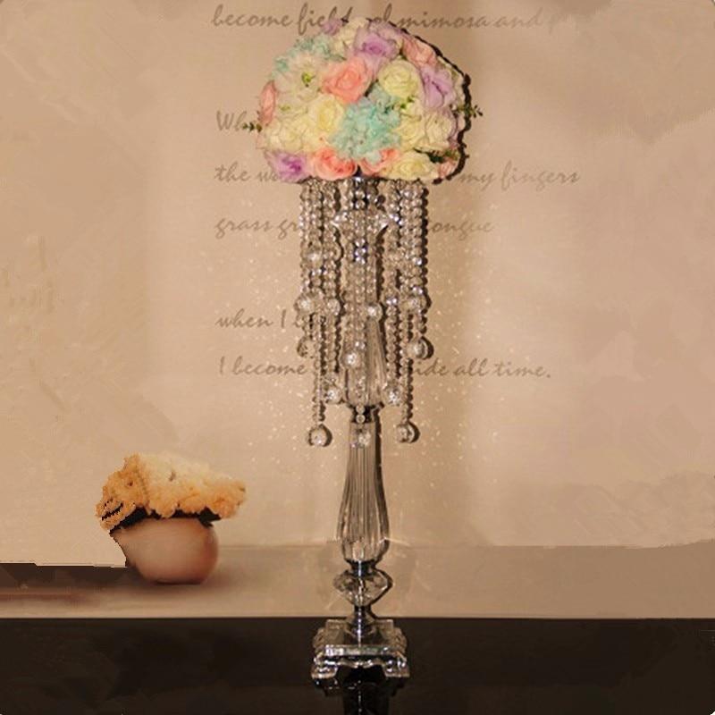Křišťálové svatební ozdobu květinový stojan, svatební nabídka / domácí dekorace květ stojan