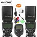 Yongnuo YN600EX-RT ii 2.4g sem fio hss 1/8000s, master flash speedlite + YN-E3-RT ttl rádio gatilho speedlite transmissor + presente
