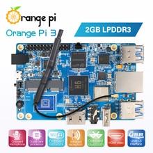 Naranja Pi 3 H6 2GB LPDDR3 AP6256 Bluetooth5.0 4 * USB3.0 soporte Android 7,0 Ubuntu Debian
