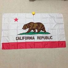A bandeira xvggdg da califórnia 3*5 pés de bandeira. Bandeira da américa. Califórnia bandeira