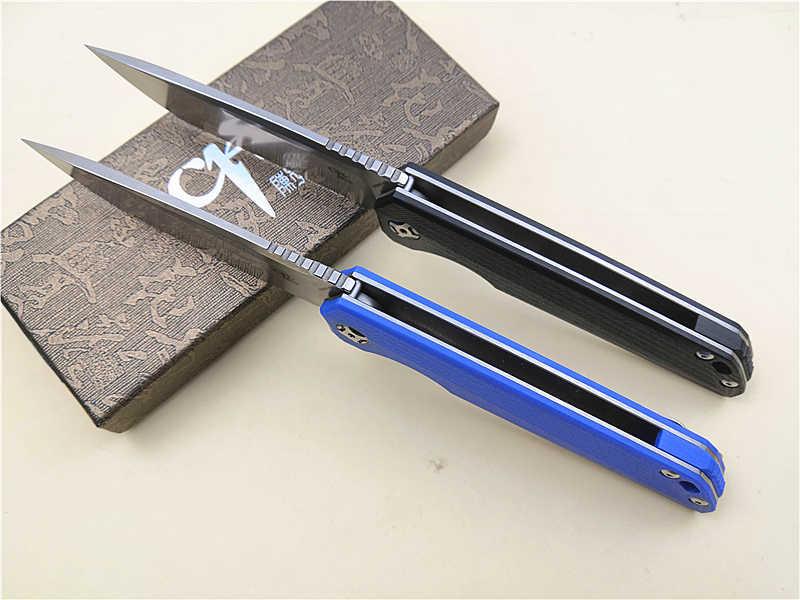 D2 складной нож CH3507 G10 Ручка Флиппер EDC/карманный/нож шарикоподшипник открытый/Кемпинг/Выживание/Тактический/Рыбалка/edc нож