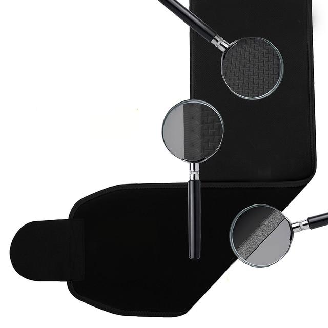 Adjustable Waist Trimmer Sweat Slimming Belt Fat Burner Body Shaper Slim Body Burn Exercise Girdle . 5