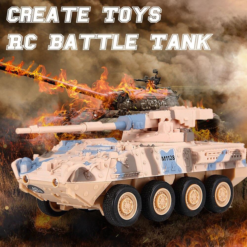 RC jouets pour enfants 8021 bataille RC réservoir télécommande RC jouet pour enfants garçons cadeaux de noël