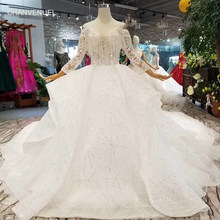 LSS147 new design wedding dresses tassel off shoulder sweetheart wedding  gown with train more layer shiny lace puffy skirt 2019 8ad1f5436215