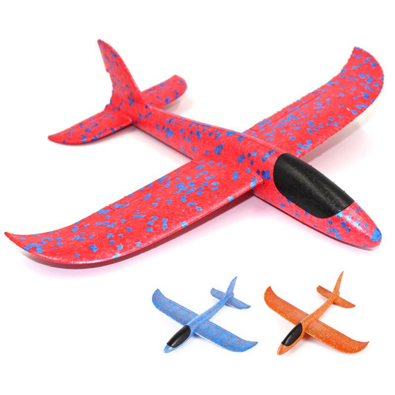Aircraft Inertial Foam Hand Throwing EVA Airplane Outdoor Launch Glider Plane Kids Gift Interesting Toys Plane Model