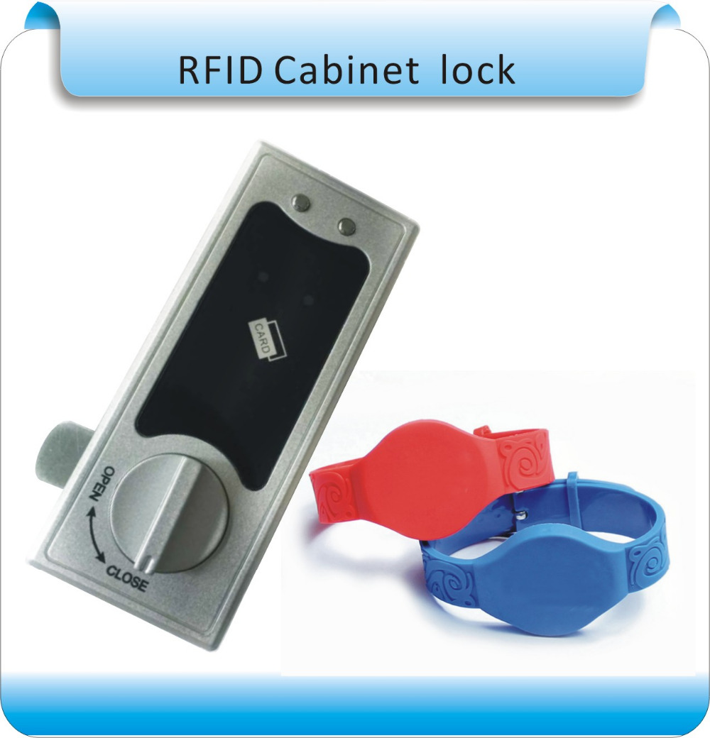 Free shipping easy install Lock Sauna Locks For Spa Swimming Pool Gym Electronic Cabinet Lock Lockers Lock With RFID key 2018 sauna cabinet lock rfid drawer lock electronic sauna locks with em master key card for swimming pool locker