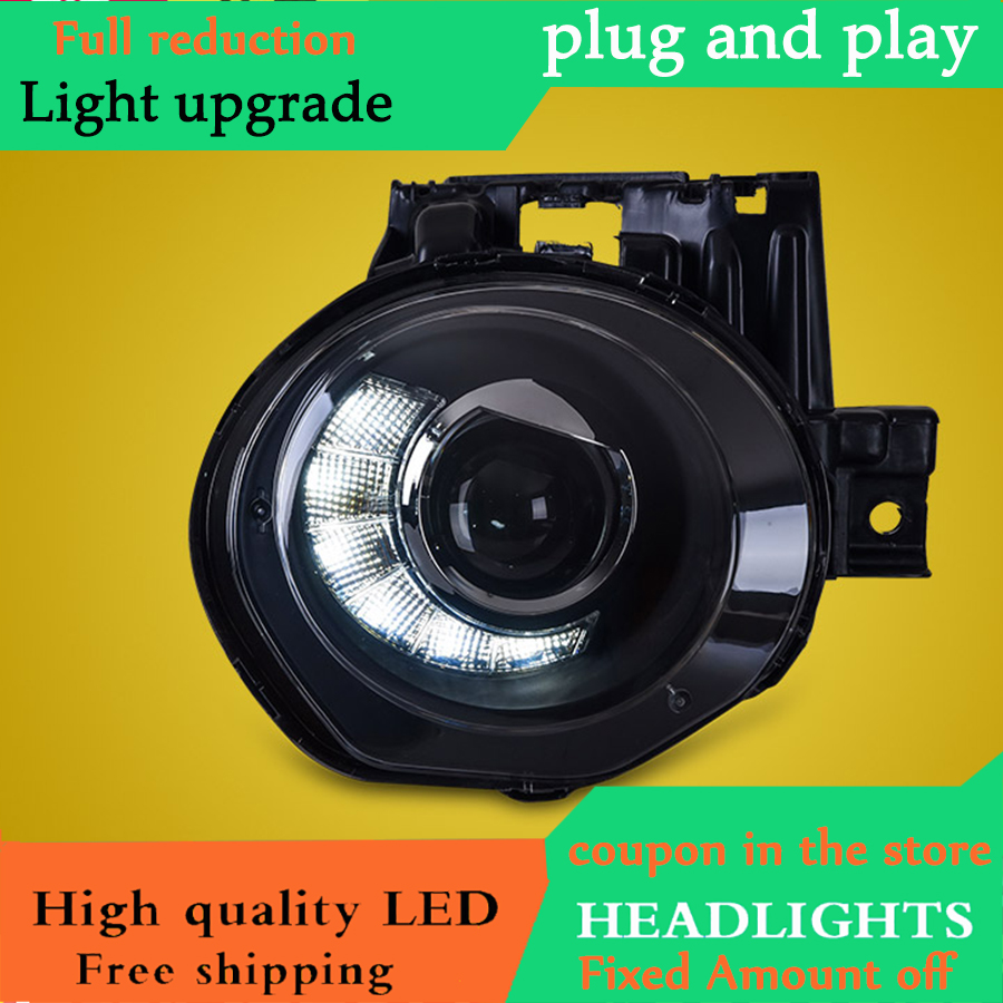 D YL Car Styling For Infiniti ESQ headlights 2014 For ESQ head lamp led DRL front