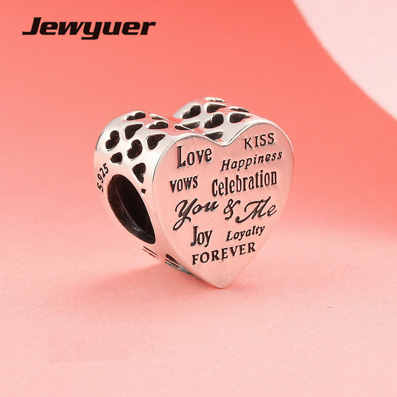 Mothers day collection Celebration hearts charms 925 Sterling Silver love beads fit Bracelets DIY Accessories Memnon BE460Mothers day collection Celebration hearts charms 925 Sterling Silver love beads fit Bracelets DIY Accessories Memnon BE460