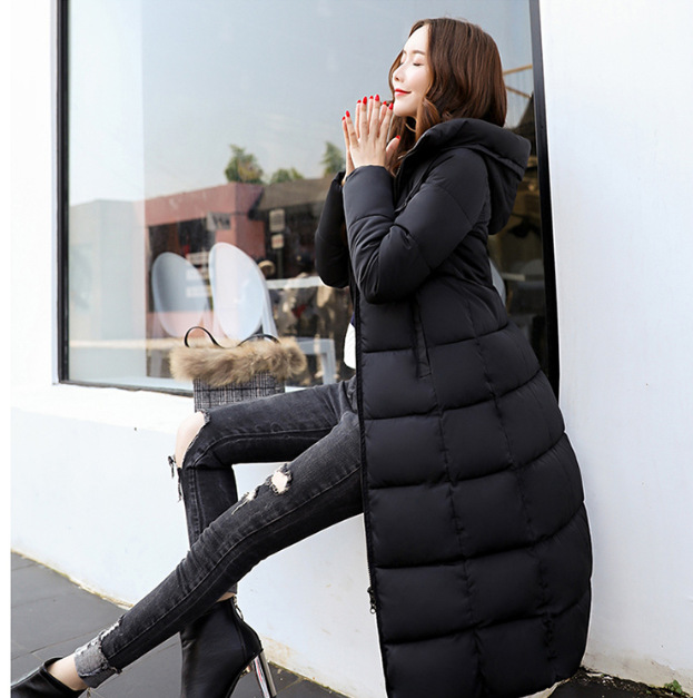 Women Winter Coat Jacket Warm Women   Parkas   hooded Female Outerwaer High Quality Cotton Coat 2018 New Long Winter Jackets Women