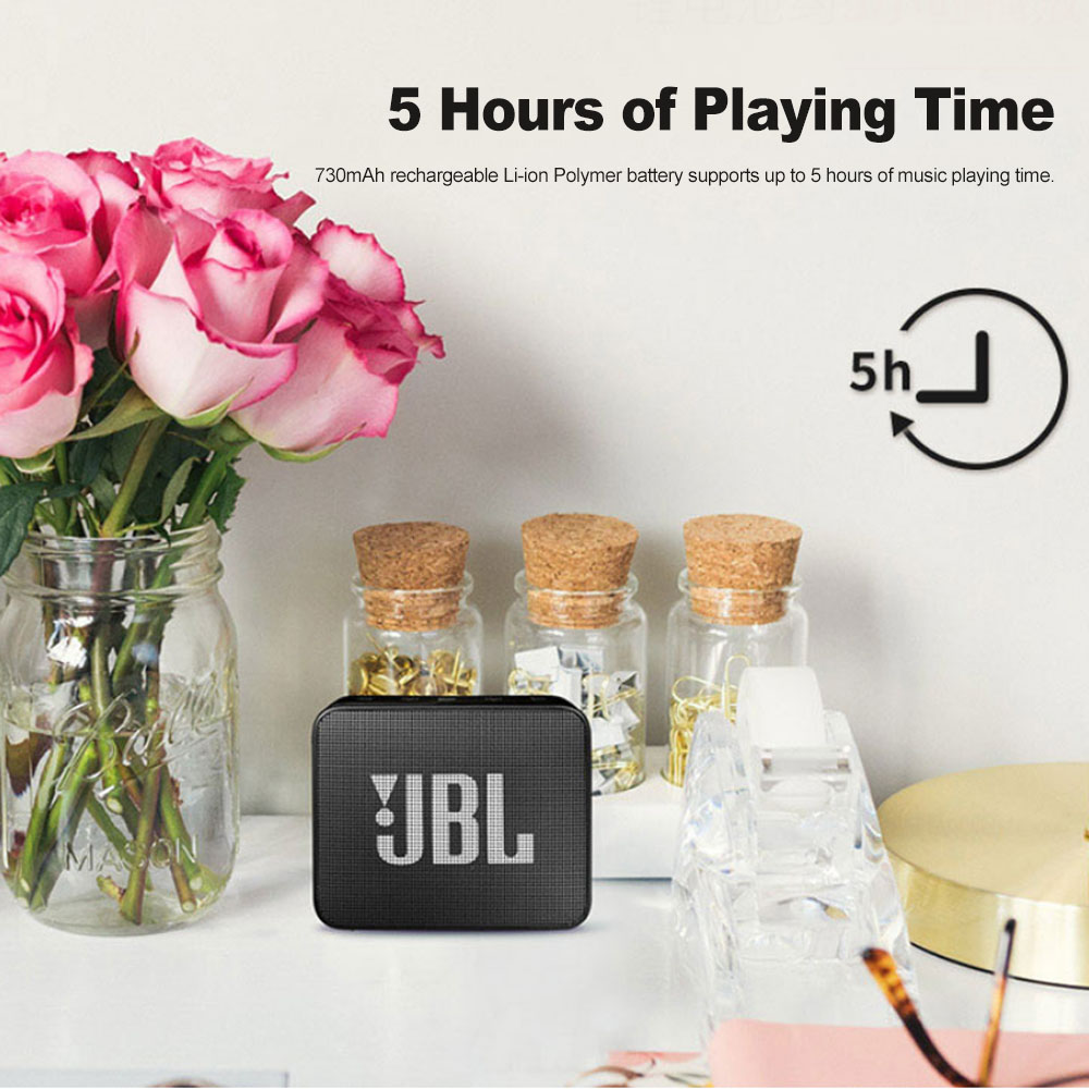 JBL GO2 Wireless Bluetooth Speaker With IPX7 Waterproof Rechargeable Battery And Mic 5